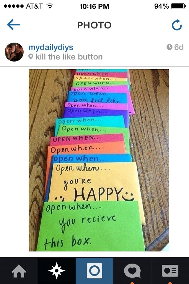 Very cute for someone moving away Gifts Pinterest Craft