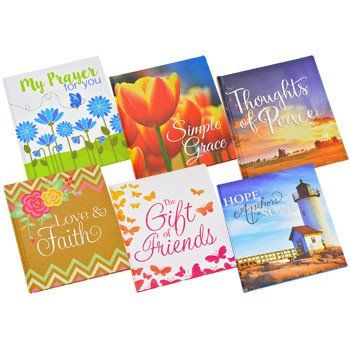 Inspirational Gift Books, 40 Pages (Set of 6)