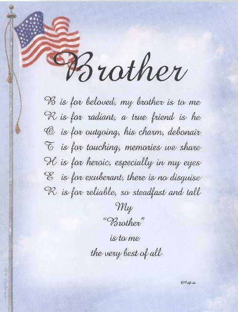Short Prayers For The Sick Brother Brother Funeral Poems Pictures