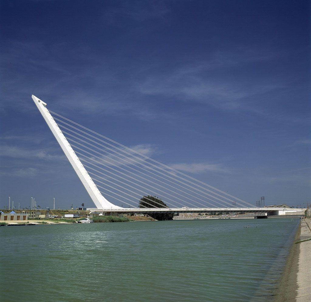 Puente Del Alamillo Sevilla Puentes Santiago Calatrava Fotos