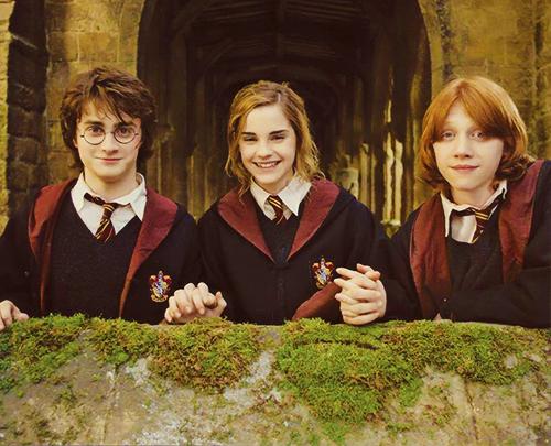 Golden Trio Harry Potter Movies Harry Potter Cast Harry Potter Pictures