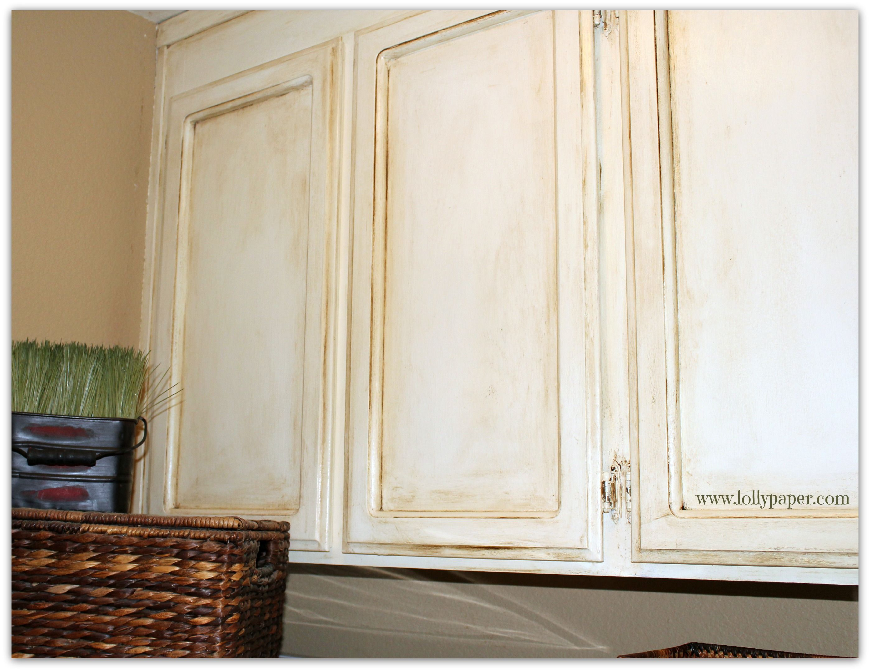 Painting Oak Cabinets with Chalk Paint - Lollypaper