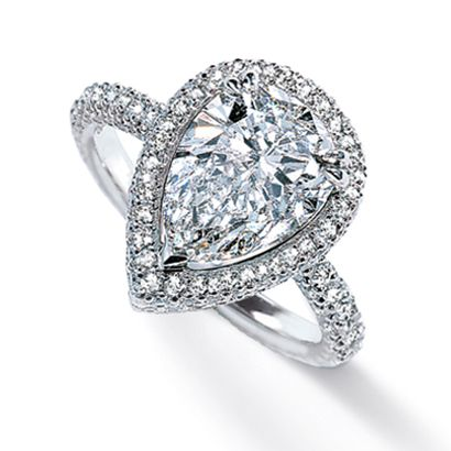 My Dream Ring   Pear Shaped!