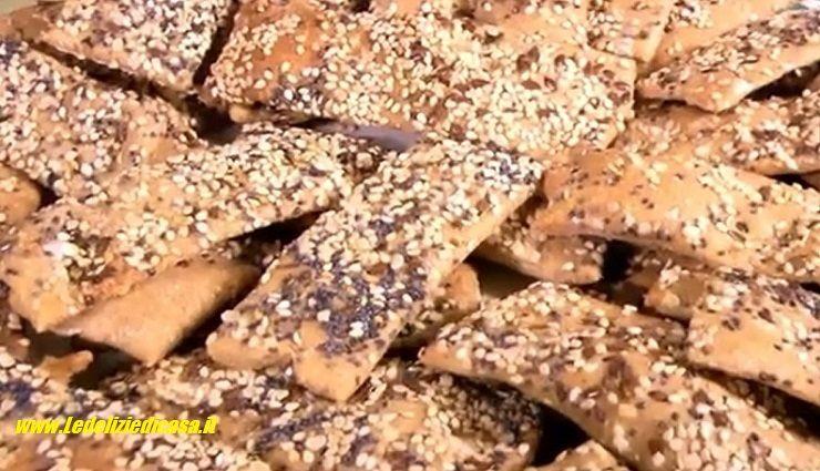 Sfoglie di pasta di pane integrale