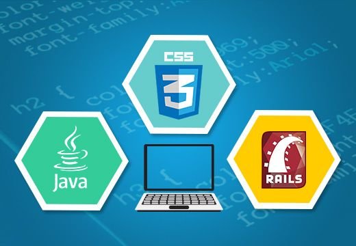 Video Web Courses: Learn Java, CSS & Ruby on Rails
