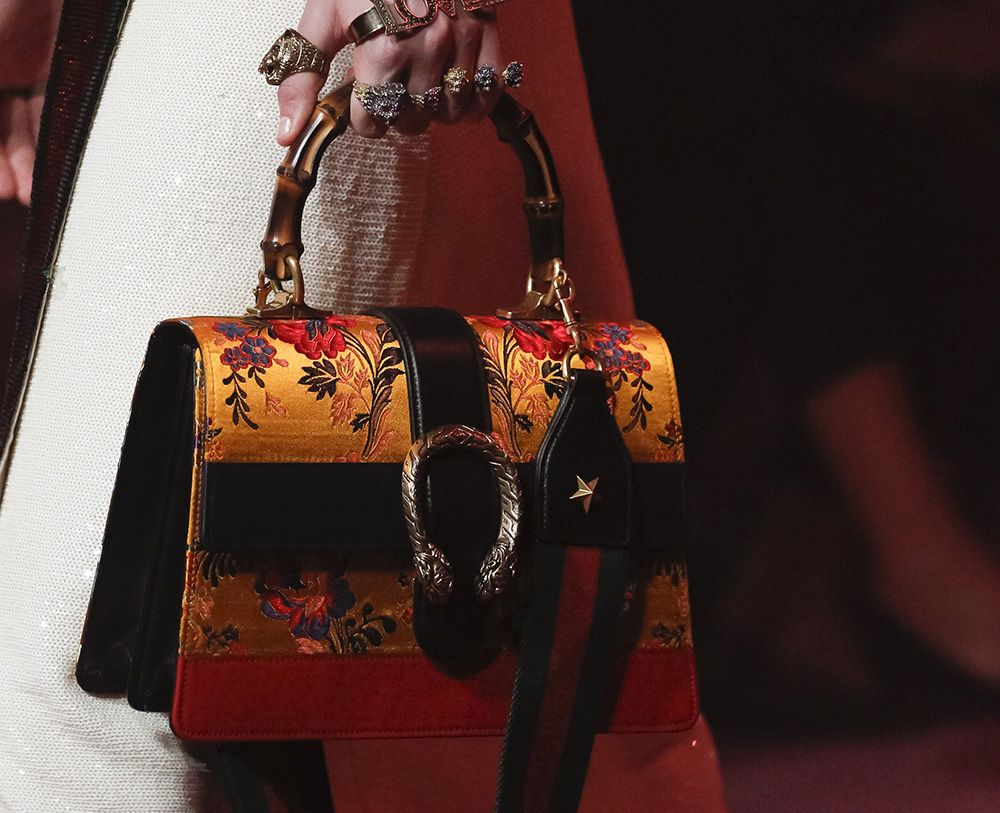 Gucci S Spring 2017 Runway Bags Are Just As Sumptuous And Detailed You D Expect