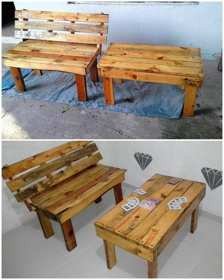 Brilliant And Affordable Old Wood Pallet Projects. Shipping PalletsPallet  FurnitureFurniture ...