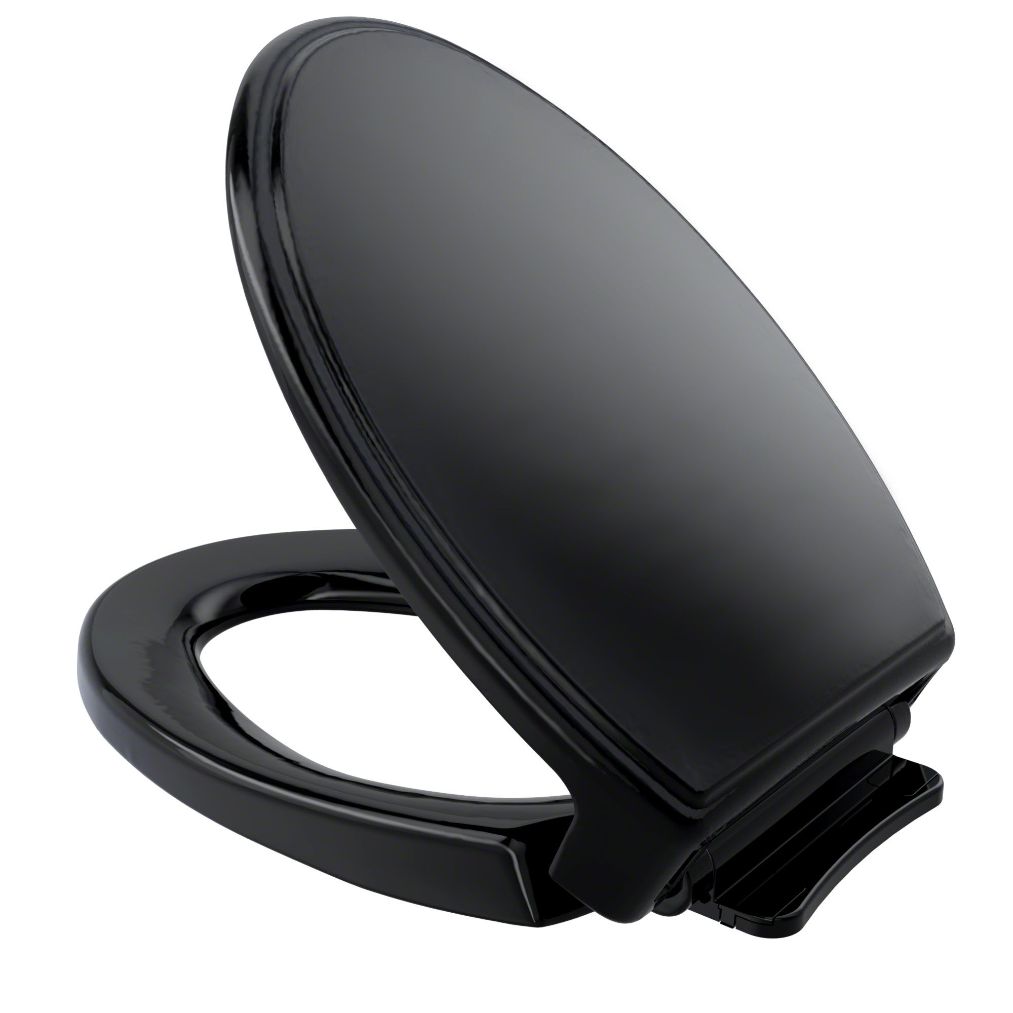 Toto Traditional Softclose Non Slamming Slow Close Elongated Toilet Seat And Lid Ebony Ss154 51 Elongated Toilet Seat Toilet Seat Ebony Toto soft close elongated toilet seat