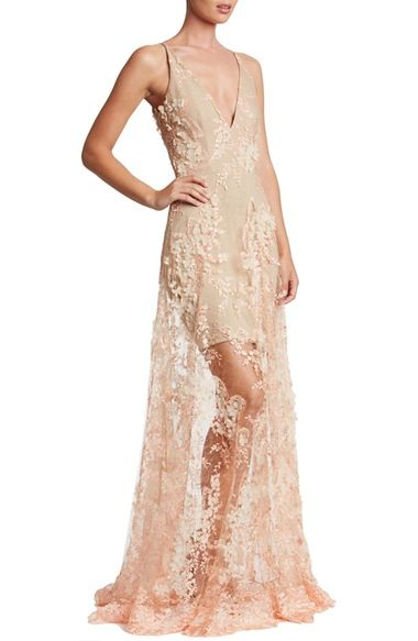734684b54c4 Dress the Population Sidney Lace Gown available at  Nordstrom ...