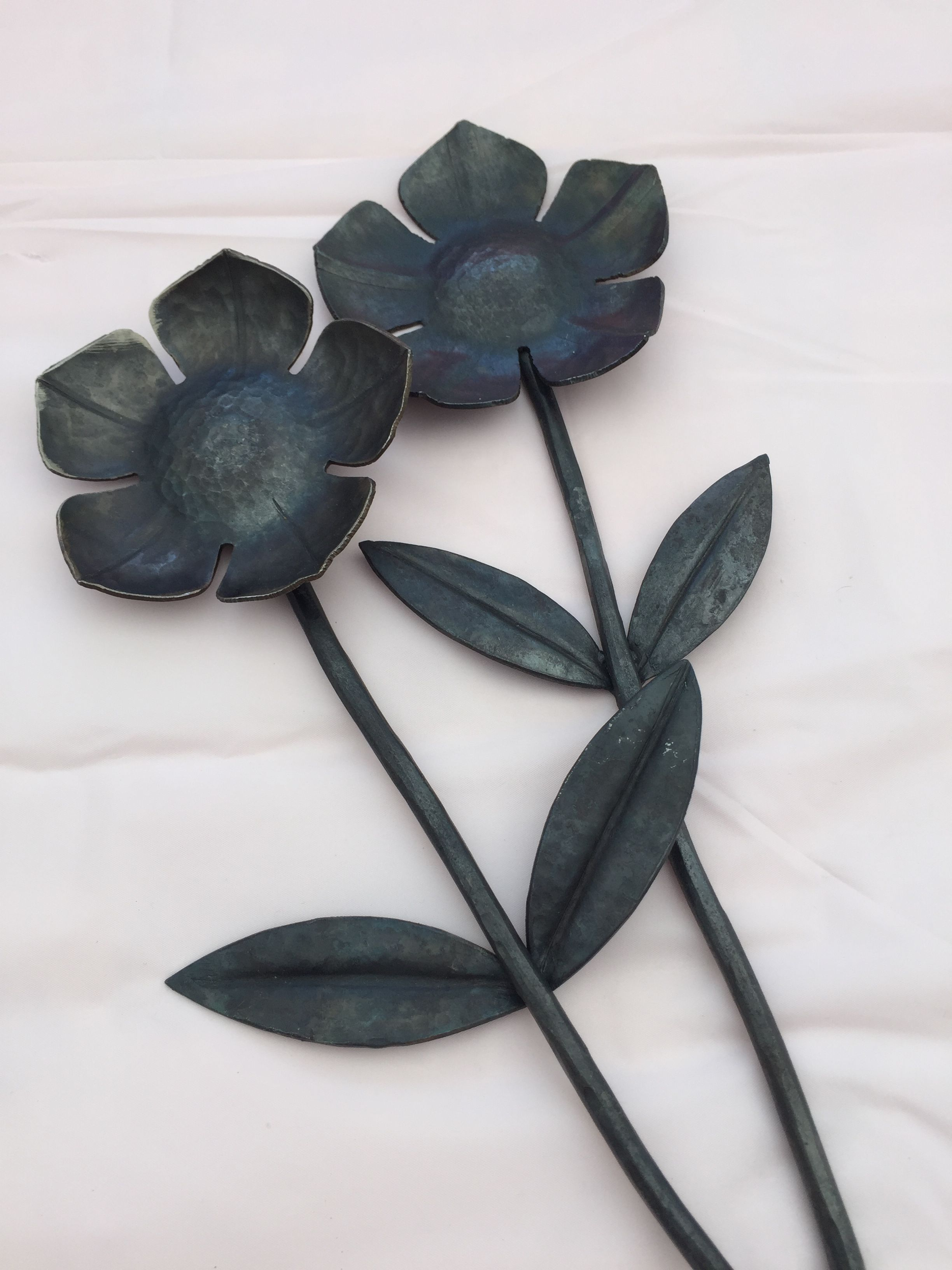 Forged metal everlasting flowers hand forged by harry at salty forged metal everlasting flowers hand forged by harry at salty dogs create izmirmasajfo