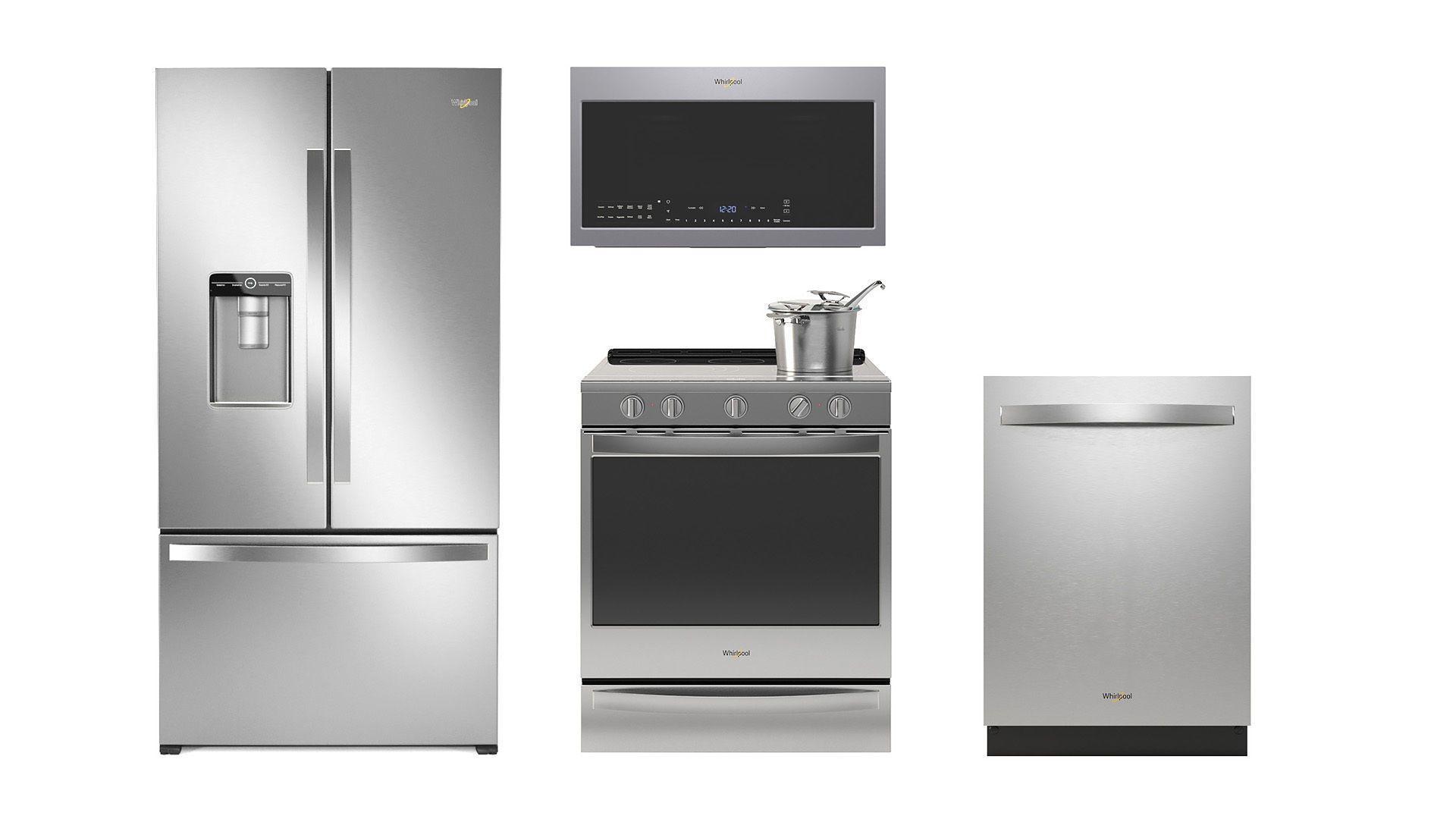 Whirlpool kitchen appliances | 3D model in 2020 | Whirlpool kitchen  appliances, Kitchen appliances, Appliances