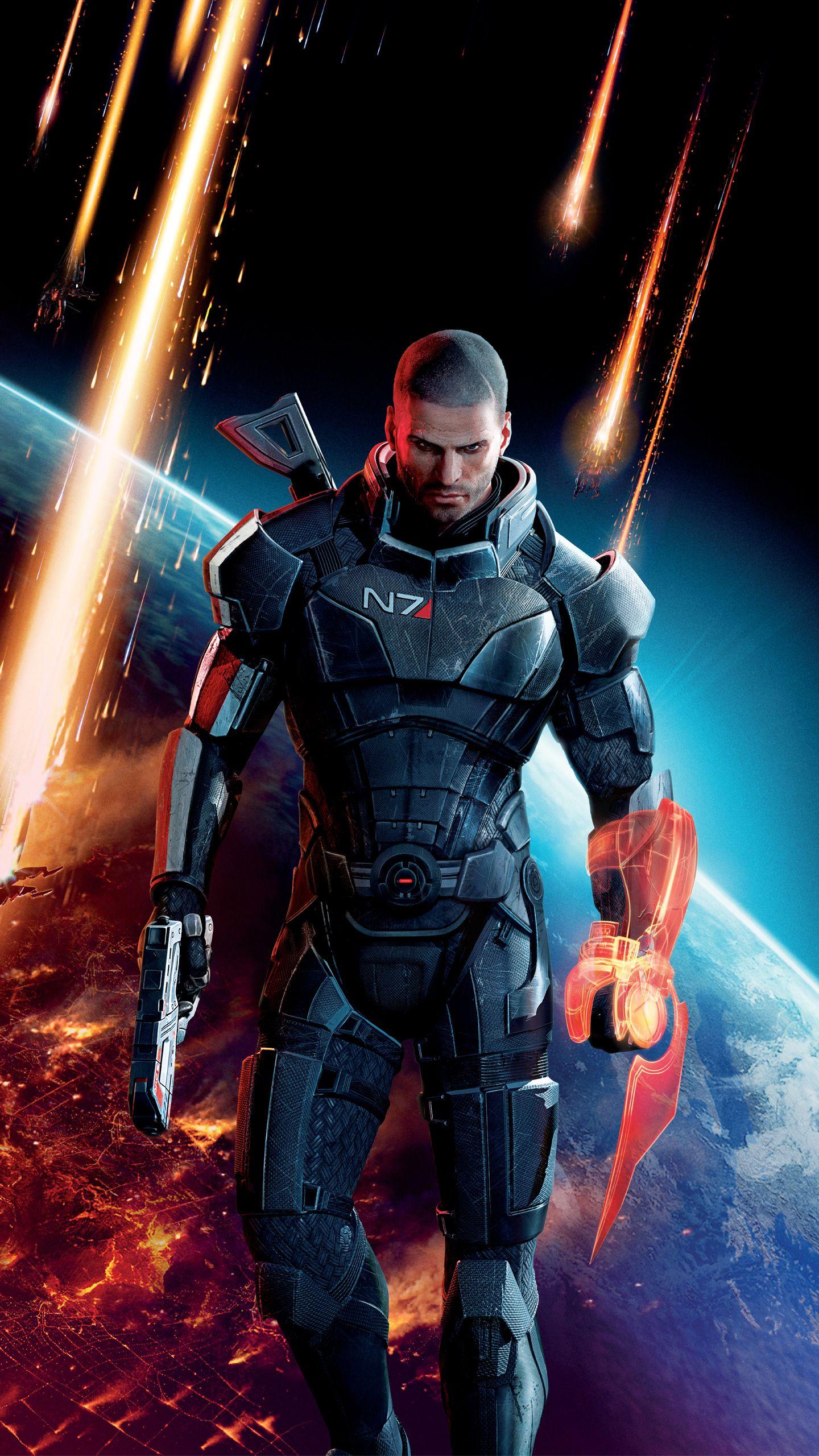 Mass Effect 3 Mobile HD Wallpaper in 2020 Deadpool hd