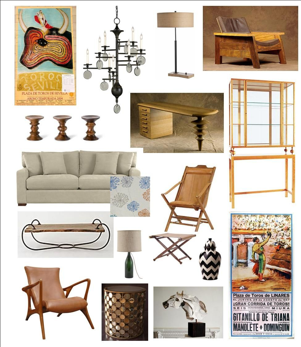 Living Room Design inspired by Ernest Hemingway - see my blog for ...