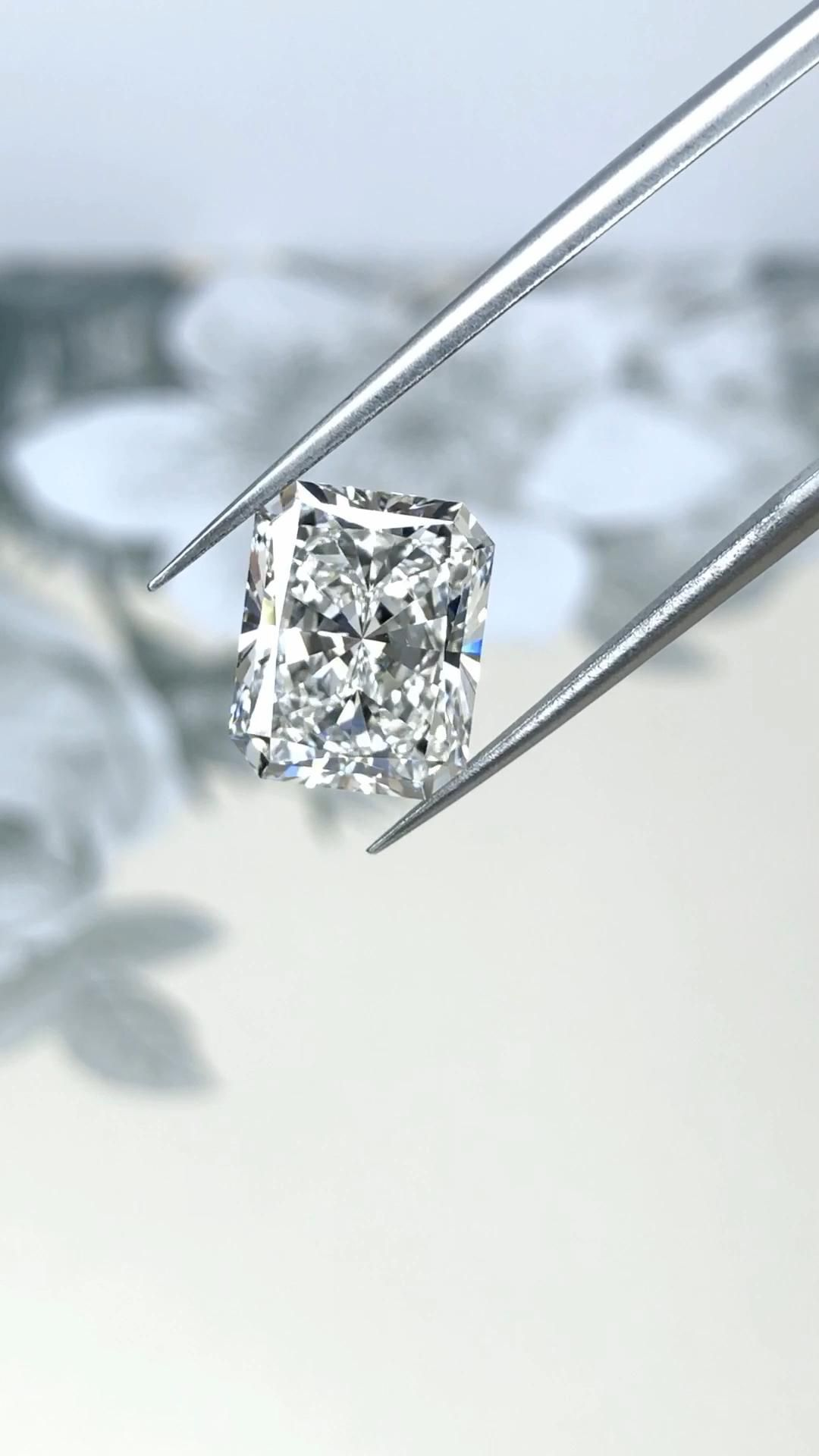Selected with the same impeccable care as our natural diamonds.  Ascot Diamonds proudly offers the most perfectly cut, brilliant Lab Grown Diamonds at prices competitive with any other source.   #labgrowndiamonds #radiantcut #diamond #diamondengagementrings #ascotdiamonds