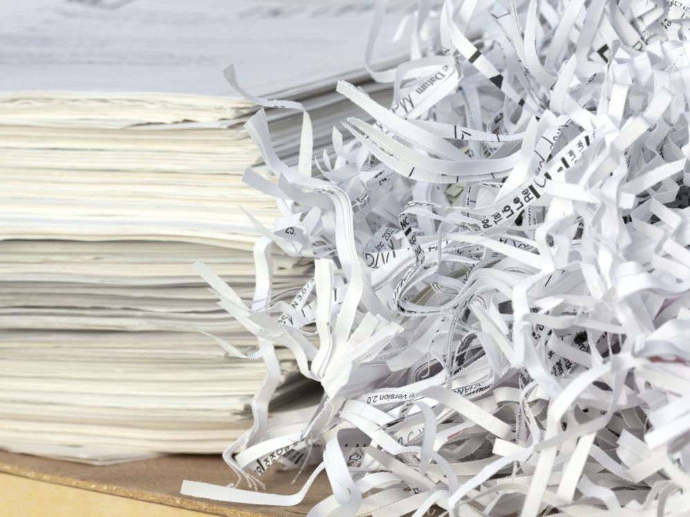 While shredded paper is technically recyclable, it can be