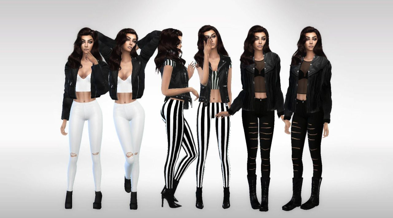206 best images about sims 3 on pinterest dots sims 4 and warm -  Leather Jacket Savage Sims Top