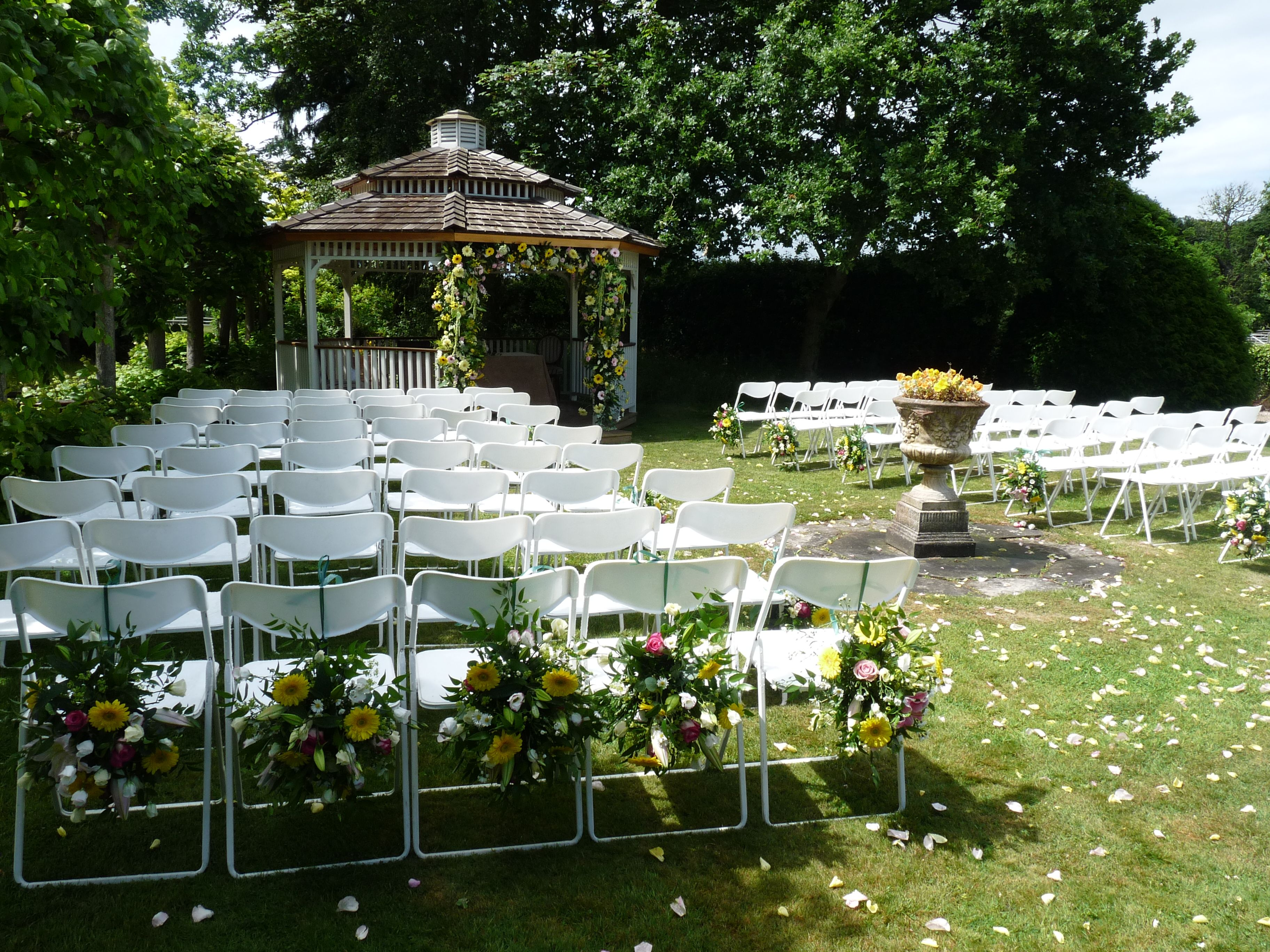 Greenwoods Hotel Spa and Retreat Our gorgeous Garden Gazebo, perfect for a sunny day