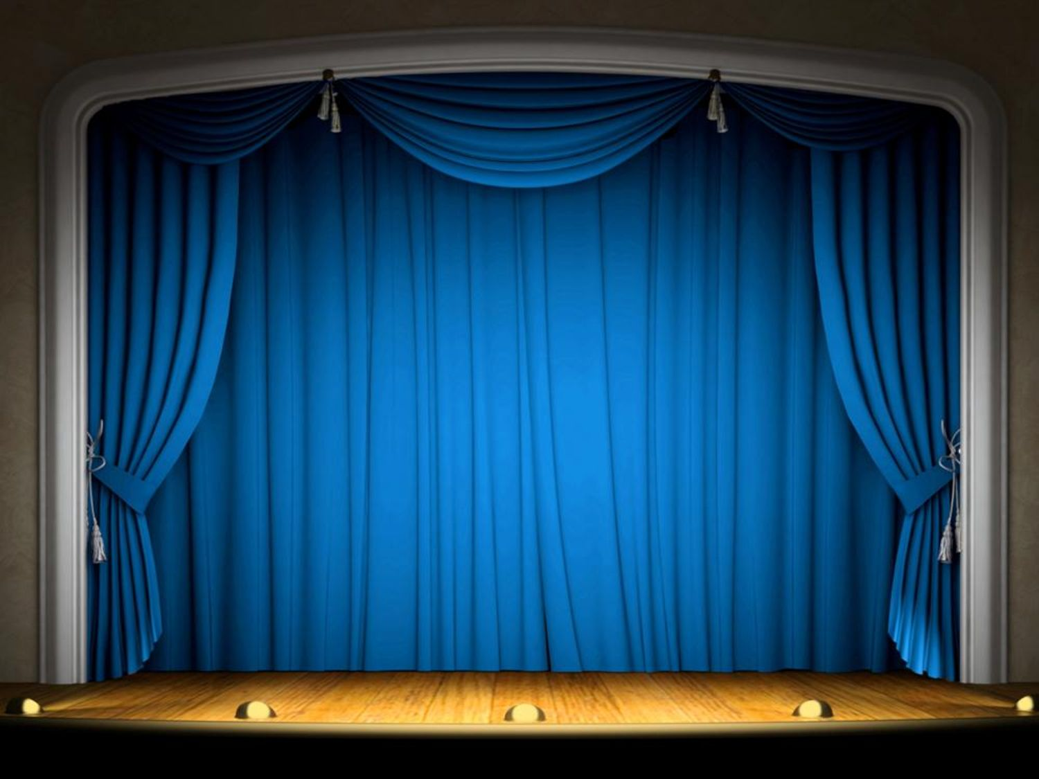 Blue Stage Powerpoint Background Hd Backgrounds For Powerpoint