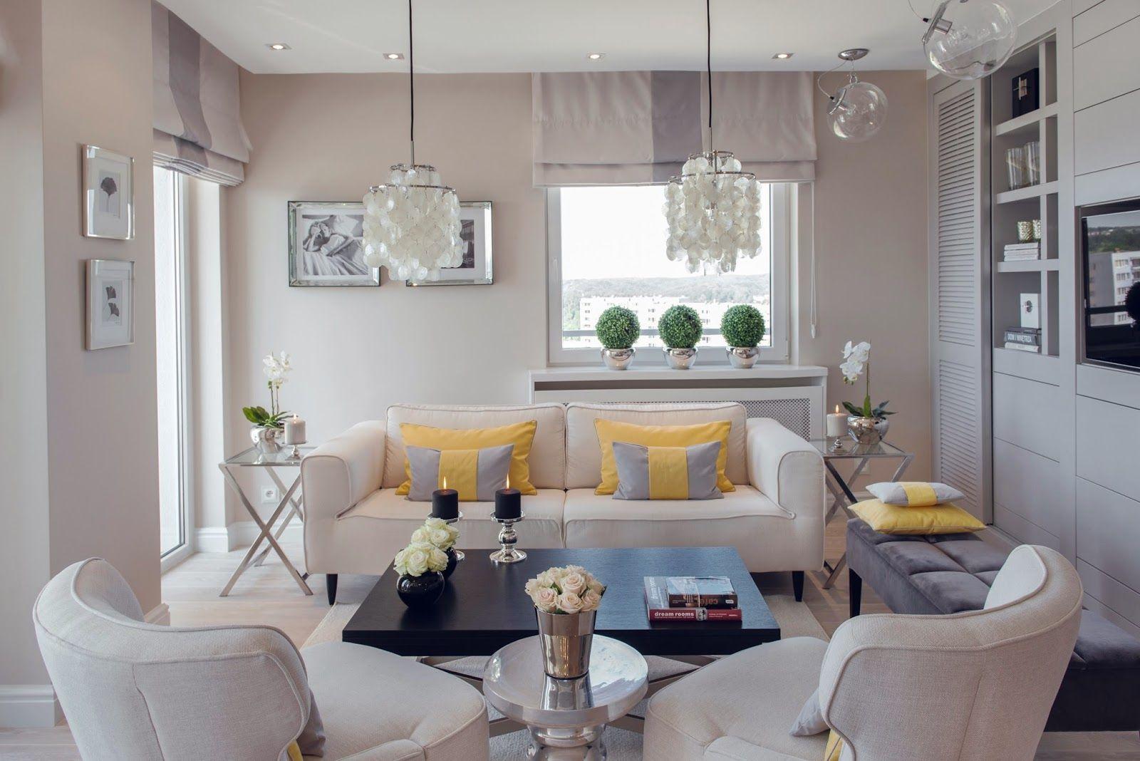 Apartamento Clean Decora O Requintada Com Toques De Amarelo  ~ Aluguel De Quarto Rj E Quarto Amarelo E Lilas