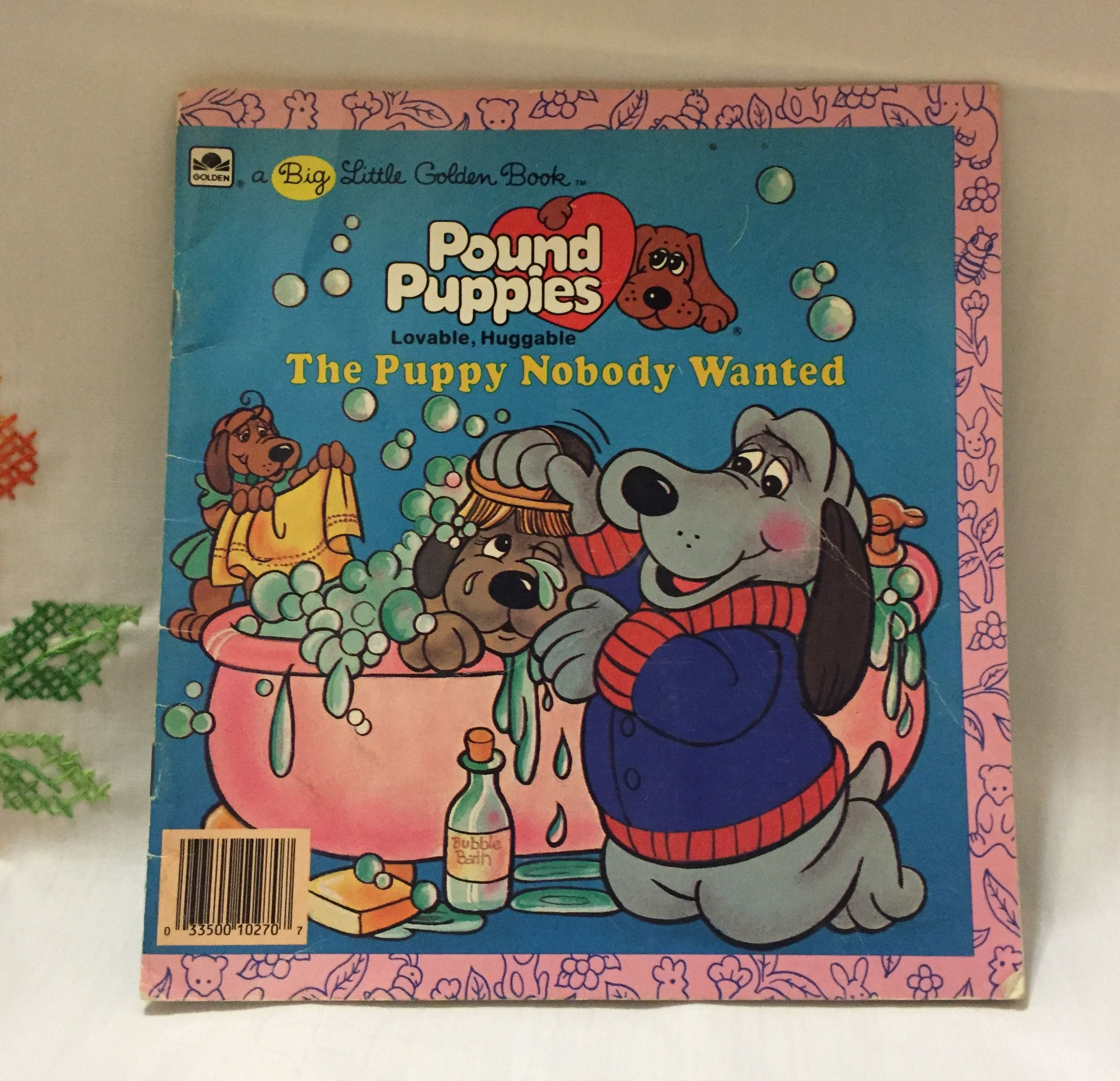 Pound Puppies Golden Book Entitled The Puppy Nobody Wanted From 1986 For Sale Stop By The Silly Sparrow Pound Puppies Children S Record Little Golden Books