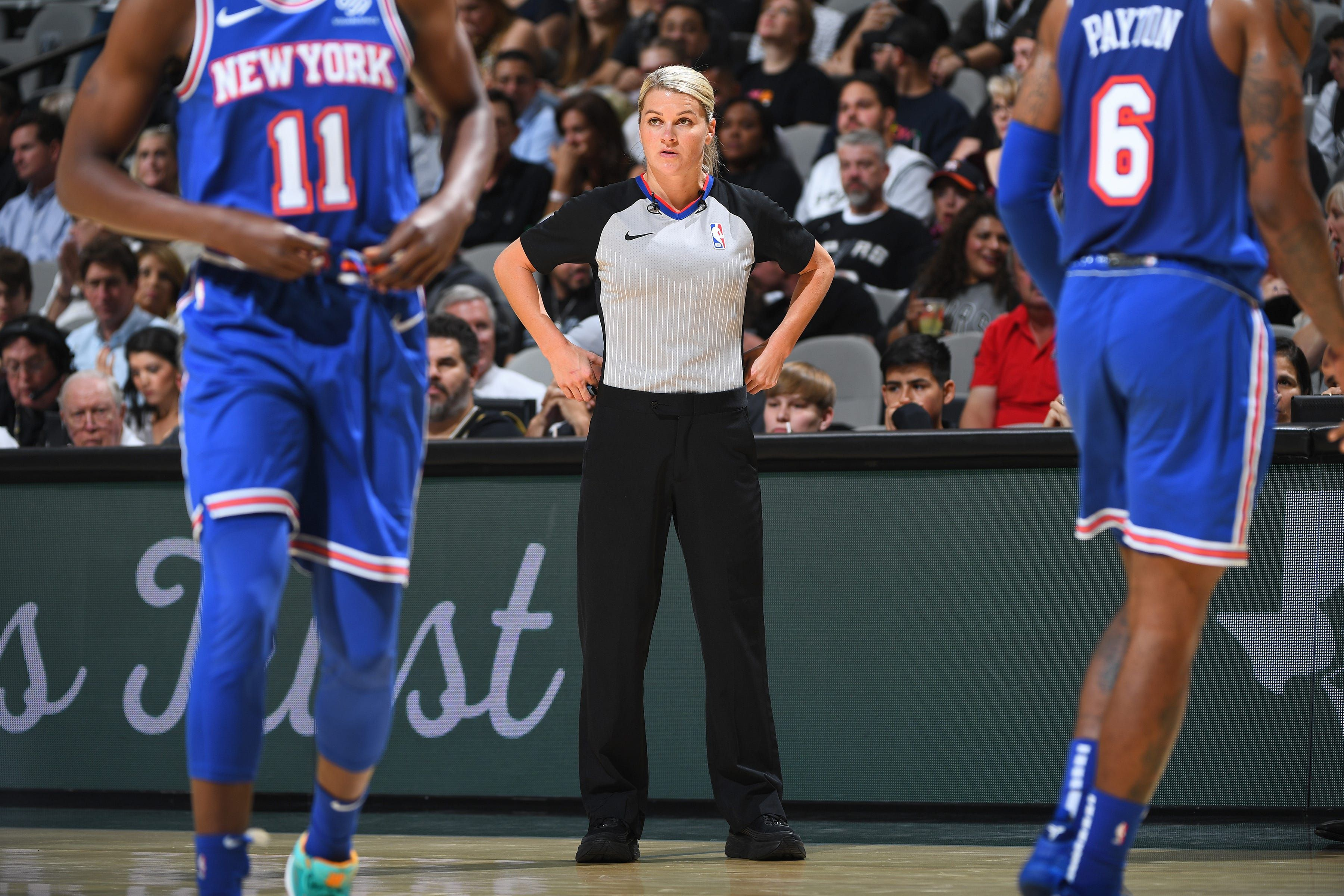How This Michigan Woman Journeyed From Comerica Park Bartender To Making Calls In The Nba Usa Today Sports Nba New York Knicks