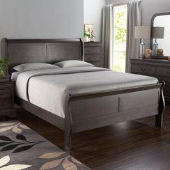 'greystone' sleigh bed ensemble | sears bedroom furniture