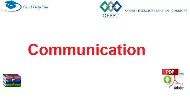 Communication Ofppt Ofppt Cours Exercice Examen Corrige Exercice Communication Examen