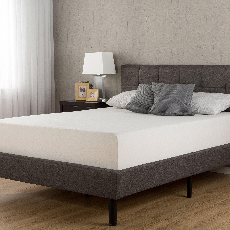 "10/"" inch TWIN Comfort Sleep Master MEDIUM FIRM Memory Foam Mattress TWIN Size"