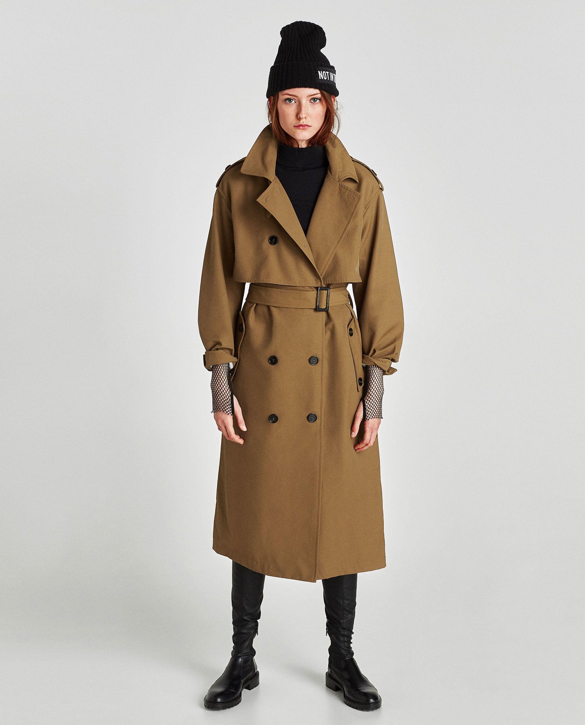 135ce61e OVERSIZED TRENCHCOAT from Zara | О тренч-ты чудо!!! | Fashion ...