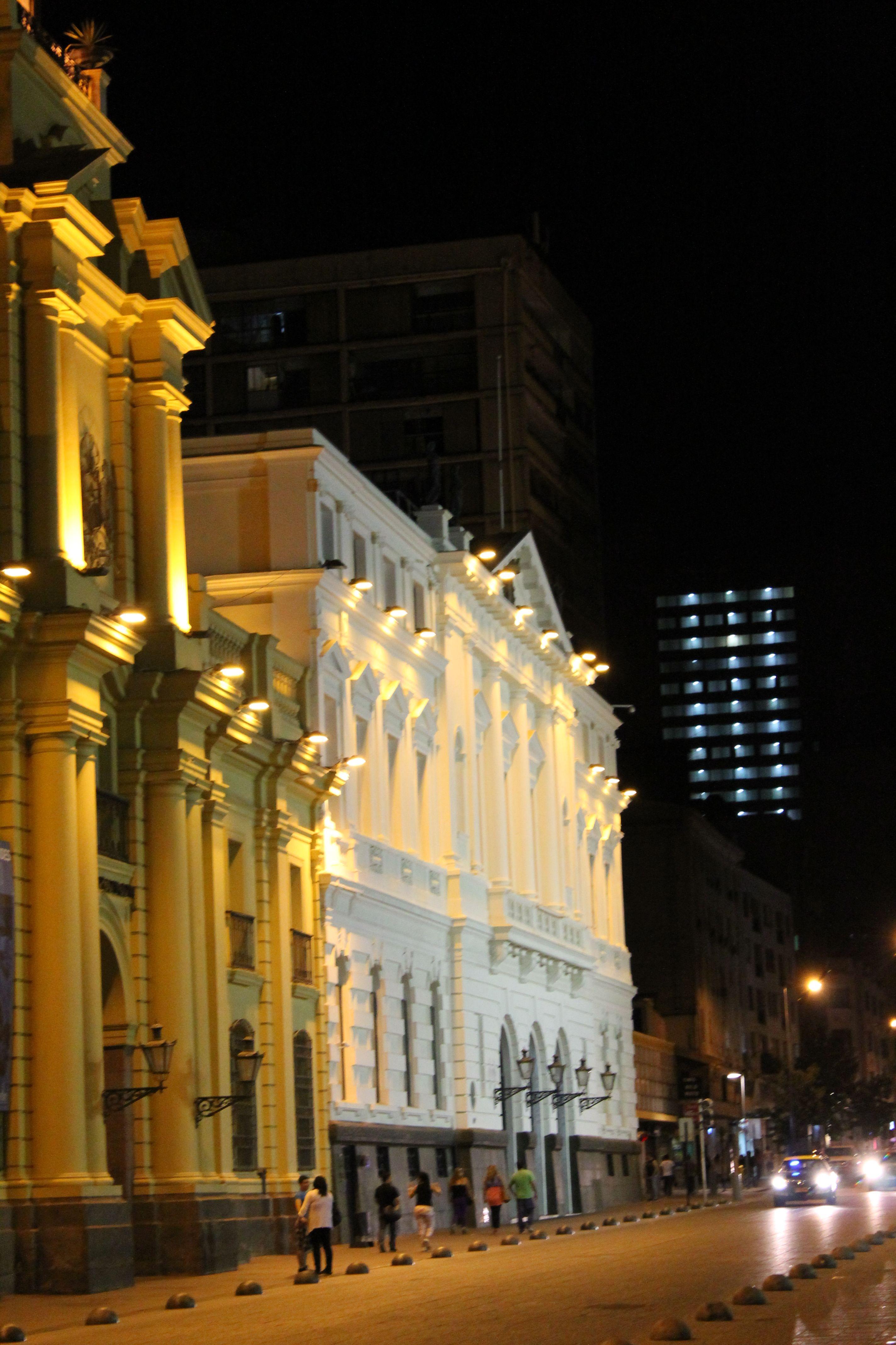 #santiago #Chile #night #PlazaDeArmas