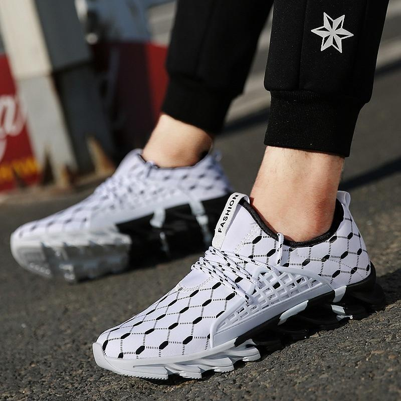 Mens Running Shoes Sneakers Breathable Gym Athletic Trainers Fitness Sports    Running shoes for men, Sneakers men fashion, Mens sport sneakers
