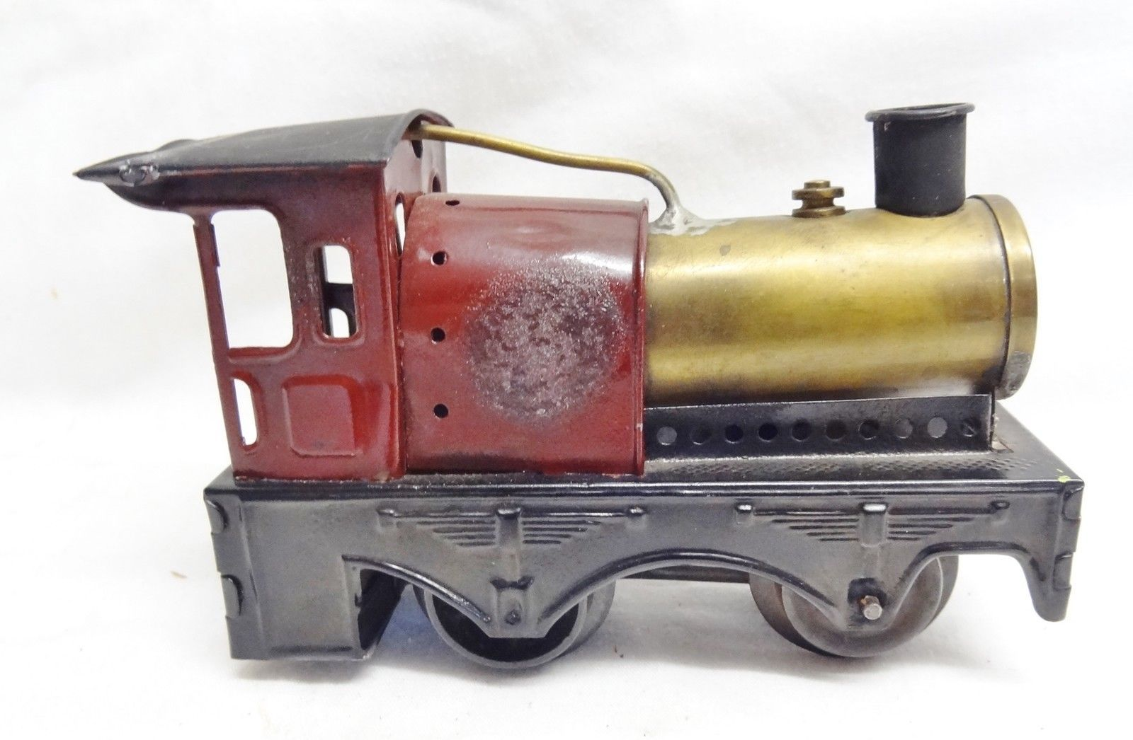 Bing O Gauge 0-4-0 Loco (note loco only) maroon, Live Steam