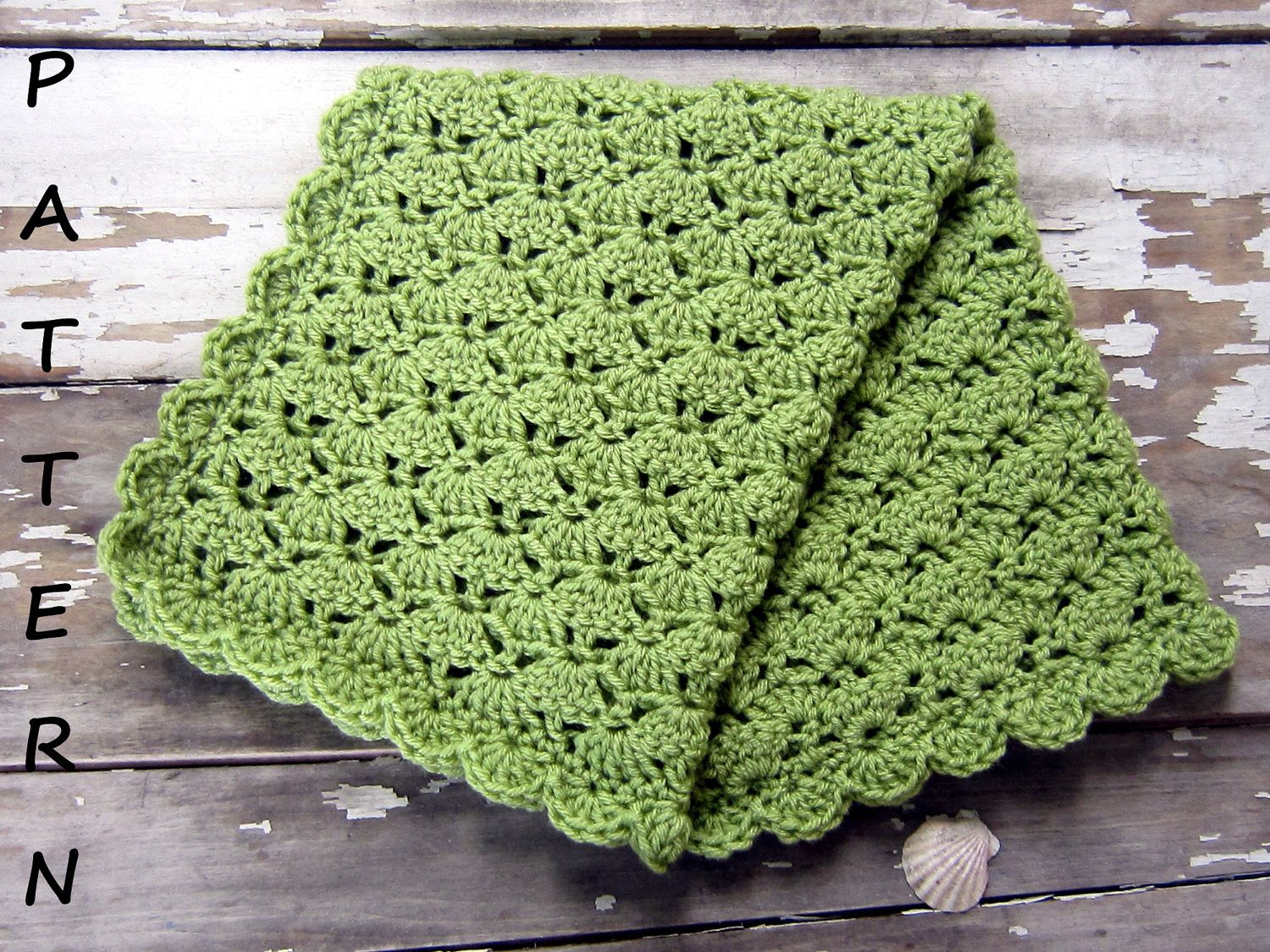 Baby blanket pattern -- $3.99 on Etsy.