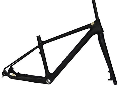 Full Carbon Matt 26er Mountain Bike MTB BB30 Cycling Frame And Fork 19' -- Be sure to check out this awesome product.