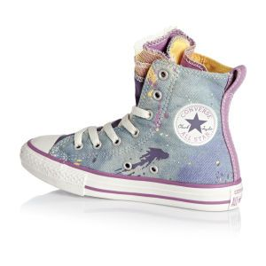 Converse Chuck Taylor All Star Party Express Yourself Denim Shoes - Moody  Purple cactus Blossom po d2846d1f4