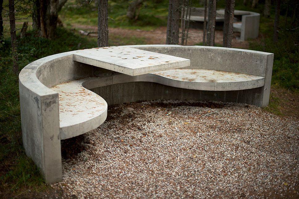 Outdoor Décor Trend 26 Concrete Furniture Pieces For Your 400 x 300
