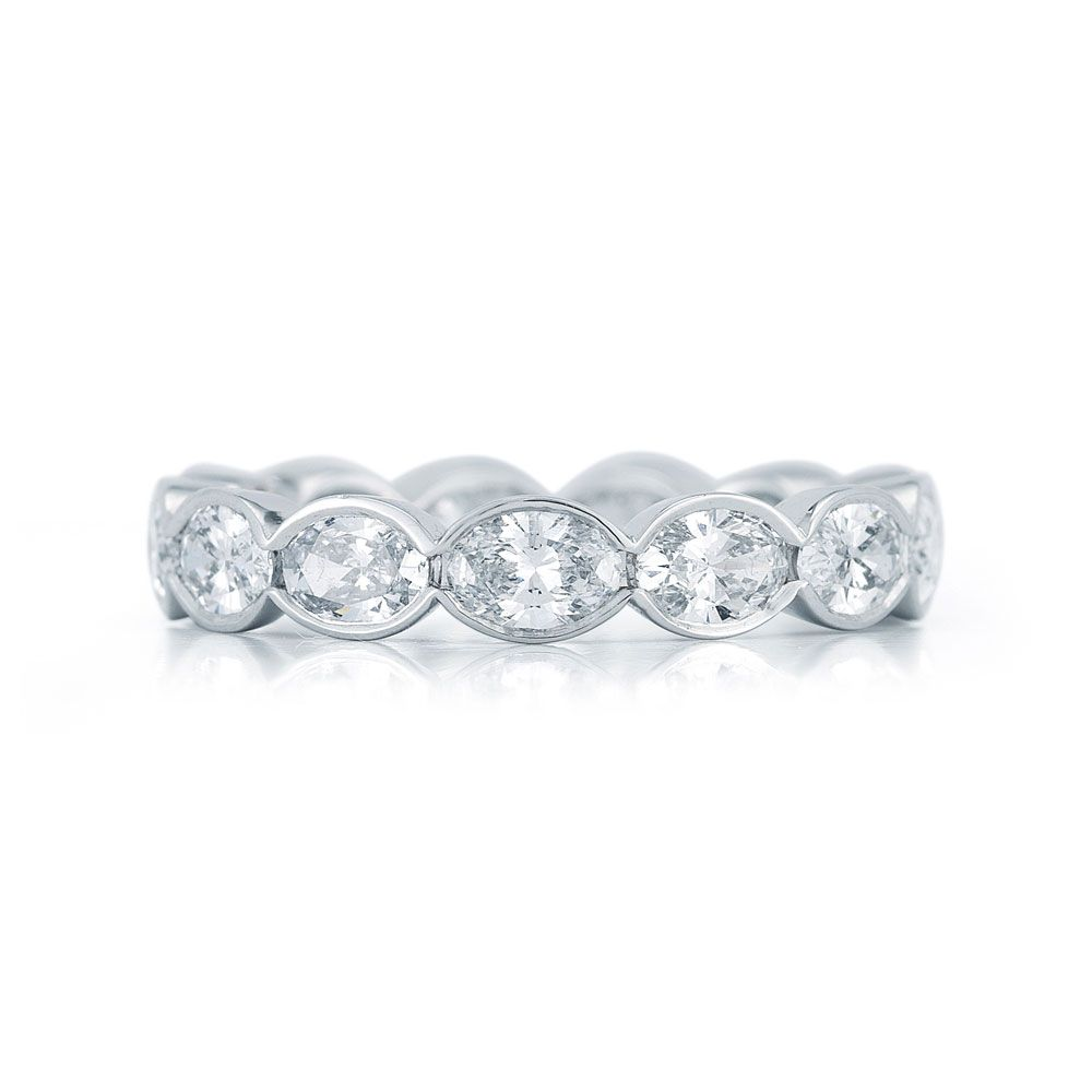 bezel set wedding fully blog bands styles band essentials diamond setting eternity ring