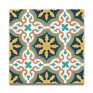 Argana Multicolor Handmade Cement And Granite Moroccan