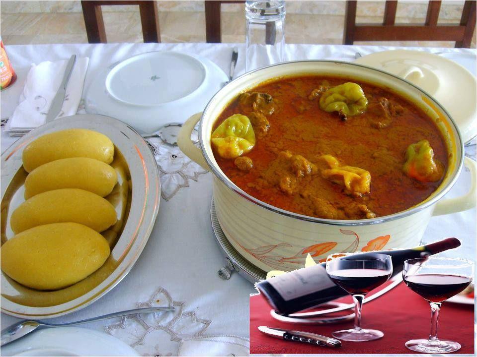 Foutou banane avec sauce graine cote d 39 ivoire recettes de cuisine africaine pinterest - Recette de cuisine cote d ivoire ...