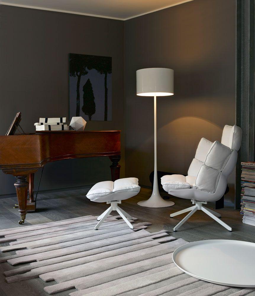 Armchair Husk Collection B Amp B Italia Design Patricia