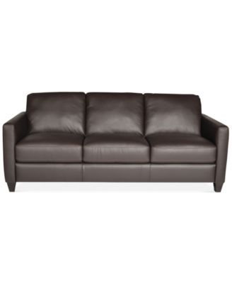 Attrayant Emilia Leather Sofa, Only At Macyu0027s