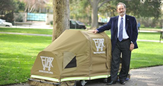 cdd891de76a0 EDAR (Everyone Deserves a Roof)--portable shelter that folds up into ...