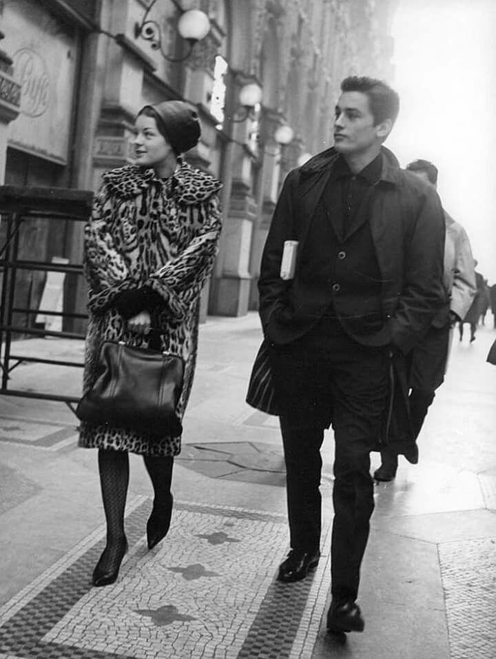 Romy Schneider&Alain Delon