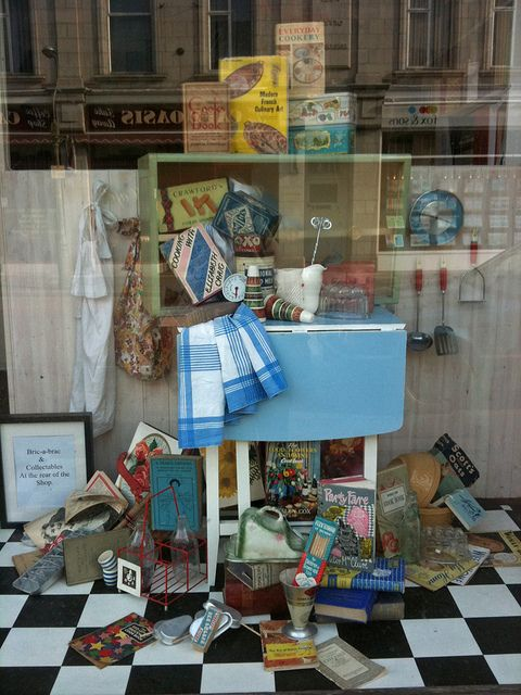 Book Shop Window Spring Spring Window Book Display Antiquarian Shop