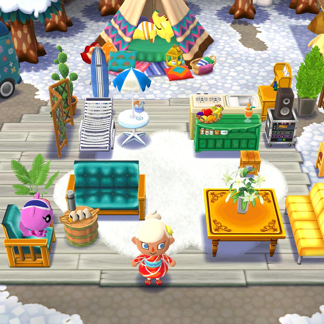 Pocket Camp Inspiration, Animal Crossing, Sundance ID