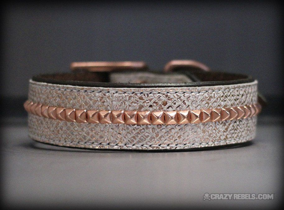 Rosé Collar-- want this for my future female dobie