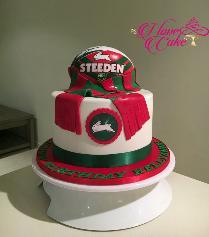 South Sydney Rabbitohs Cake