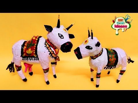 Ideas That Prove Paper is The Best Crafts Material Ever |  cow diy | Best Crafts  | diy craft ideas