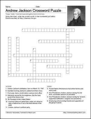 Andrew Jackson Worksheet - Checks Worksheet