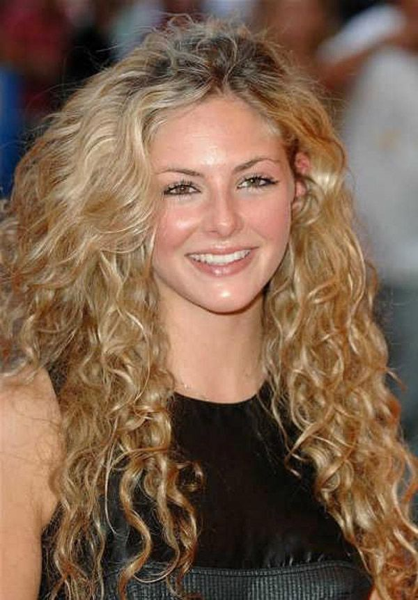 Cute Easy Hairstyles For Curly Frizzy Hair - Best Blonde Hair 2017